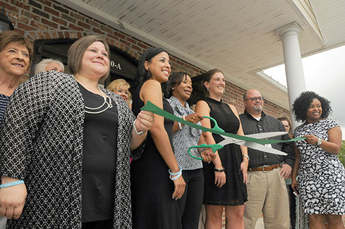 Ribbon cutting at new Integrated Family Services office in Morehead City